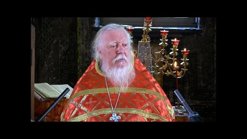 † 1999 04 04 Димитрий Смирнов Неделя 6 я Великого поста Вербное воскресенье