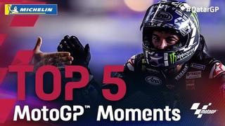 Moto GP * Гран-при Катара * Топ-5 моментов от Michelin