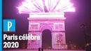 Nouvel An 2020 revivez le feu d'artifice des Champs Elysées
