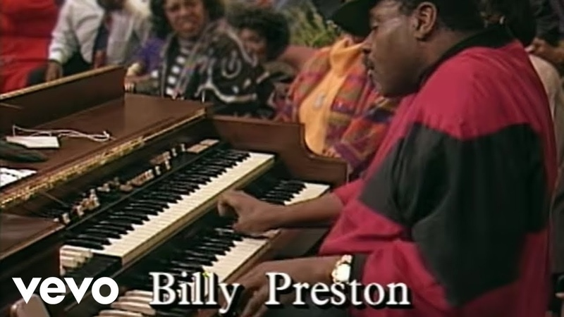 Billy Preston You Can't Beat God Giving Live Official Video