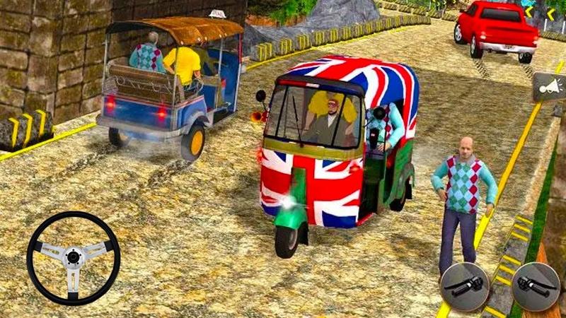 Fun Tuk Tuk Rickshaw Driving - Offroad Auto Driver Game 2020 - Game Lái Xe Tuk Tuk Trên Điện Thoại