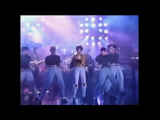 I'm Your Baby Tonight LIVE   on the Arsenio Hall Show 1990.