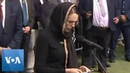 New Zealanders, PM Ardern, Observe Muslim Call to Prayer