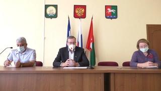 Брифинг главы администрации Уфимского района по противодействию распространения COVID-2019