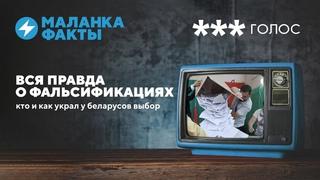 Кто и как украл у беларусов выбор / Фальсификации как причина санкций