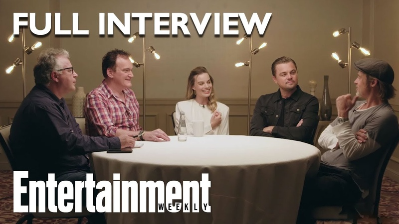 Entertainment Weekly. Once Upon A Time In Hollywood Roundtable