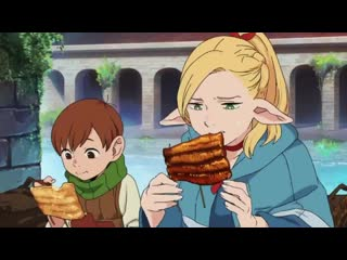 Dungeon meshi 8 vol. cm anime