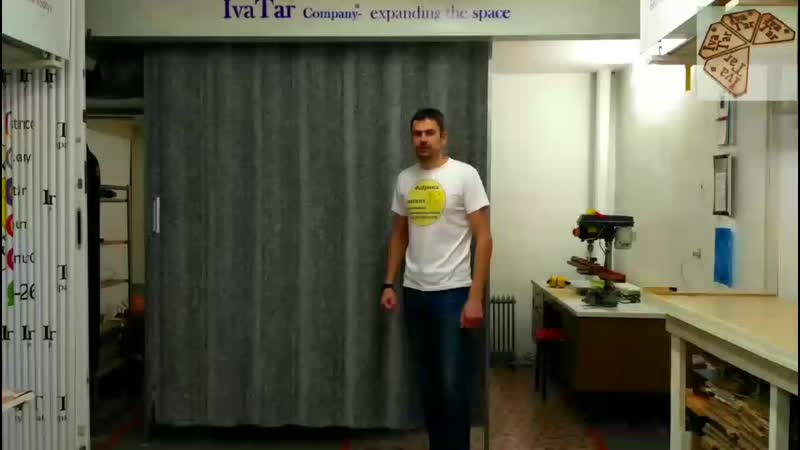 Мягкие раздвижные звукоизолирующие перегородки от IvaTar Company