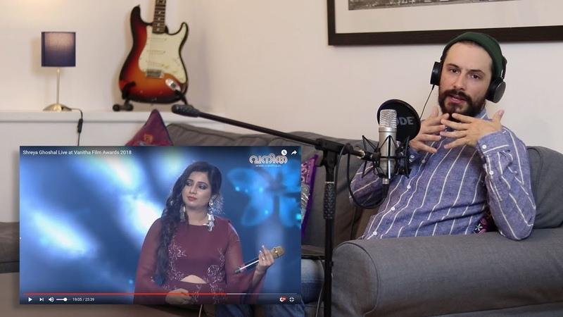 Voice Teacher Reacts Shreya Ghoshal LIVE at Vanitha Film Part 2