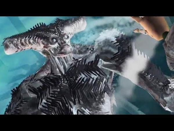 Previz Extended Scene Mera vs Steppenwolf 'Justice League' Snyder Cut