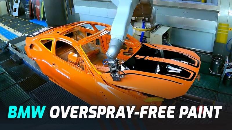 BMW's New Overspray Free Paint Process Works Like An Inkjet Printer