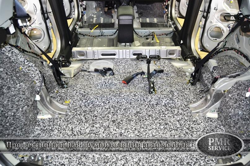 Комплексная шумоизоляция Mitsubishi ASX, изображение №14