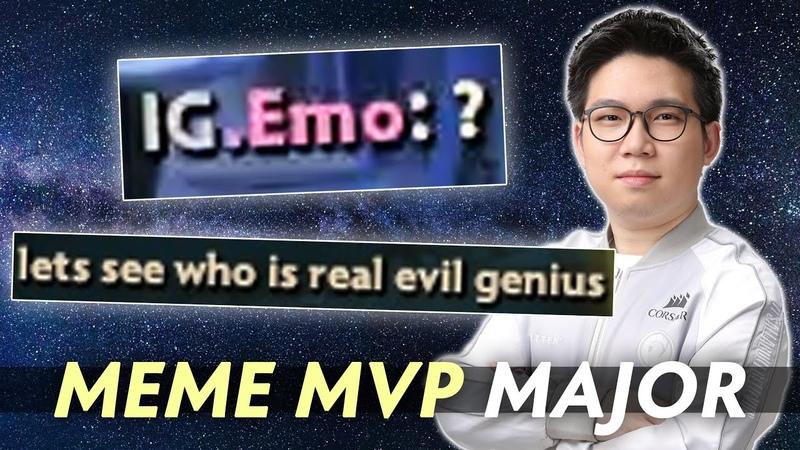MEME MVP of ONE Esports Singapore Major 2021