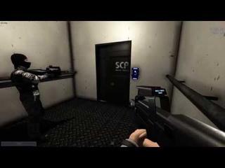 Обычная поездка в лифте SCP:SL