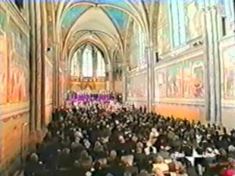 Assisi Concerto di Natale Mirella Freni Ruggero Raimondi