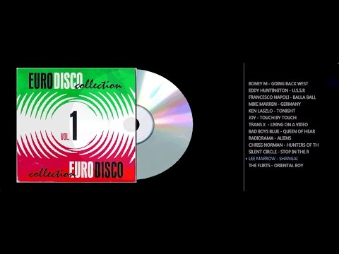 EURO DISCO COLLECTION VOL 01 CD COMPLETO COM NOMES
