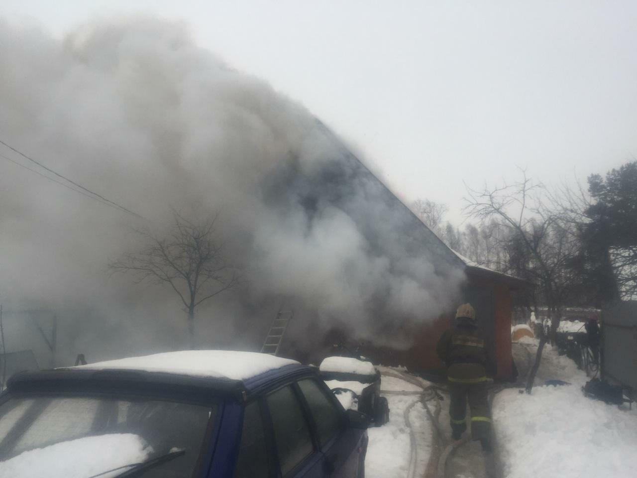 В Марий Эл огнем серьезно поврежден жилoй дом