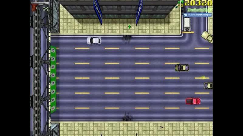 008 GTA 1 Миссия 7 Глава 1 Либерти Сити Автобус