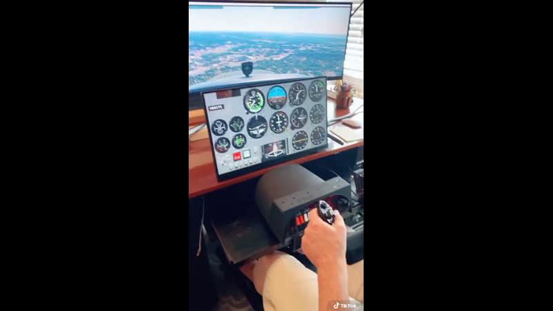 Самодельный авиасимулятор 👍