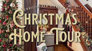 Christmas Home Tour - Christopher Hiedeman's Christmas Decorating - Historic 1898 Home Tour