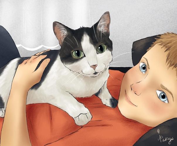 история-одного-кота-иллюстрация-романова-полина