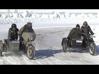 зимний мотокросс в Рузаевке
