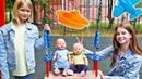 Беби Боны и Сестрички на Детской Площадке! Как Ухаживать за Беби Бон - Видео для Девочек