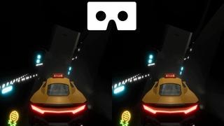Cyber Driver 3D VR video 3D SBS VR box google carboard