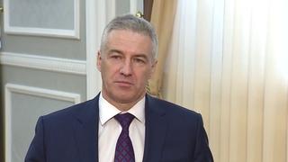 Артур Парфенчиков   Обращение к жителям республики 2020 Карелия Петрозаводск
