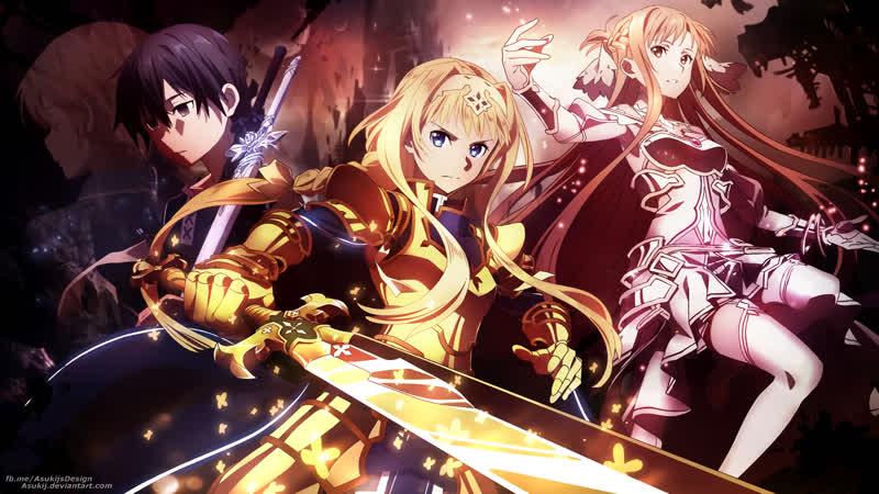 Мастера Меча Онлайн: Алисизация — Война в Подмирье / Sword Art Online: Alicization - War of Underworld | 9 серия | Озвучка