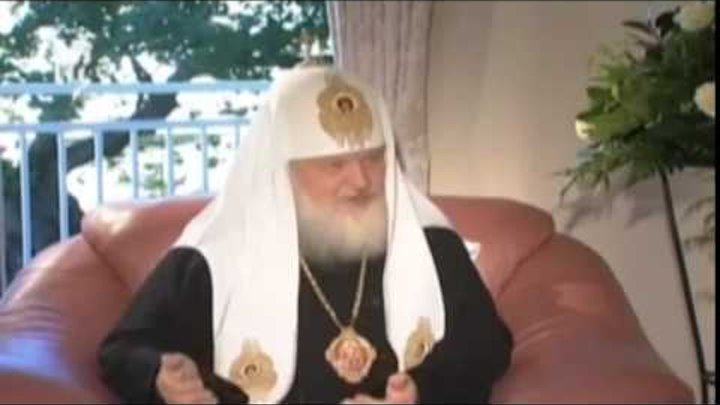 Славяне варвары люди второго сорта почти звери Патриарх Московский и всея Руси Кирилл Гундяев