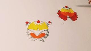 6 Урок -  Практика  Борецкие цветы (Часть 2)