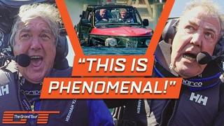 Jeremy Clarkson Tests His Jet Engine Powered Amphibious Car   The Grand Tour