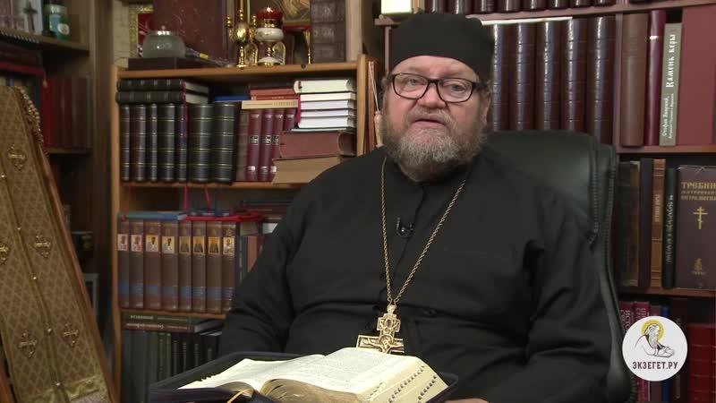 Деяния Святых Апостолов Глава 19 Протоиерей Олег Стеняев толкование