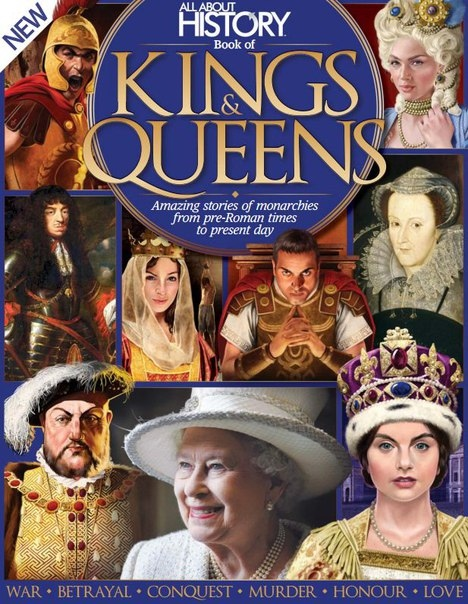 All About History Book of Kings - Queens 6th Edition