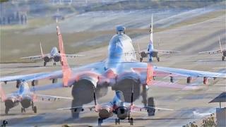 """МиГ-29 взлет """"по-чёрному"""". Дымовуха в Сочи."""