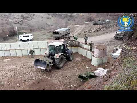 Боевые габионы как армия России закрепляется в Карабахе