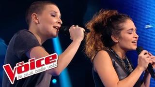 Calogero – Prendre racine   Anne Sila VS Pompom Pidou   The Voice France 2015   Battle
