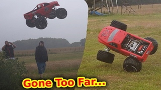 Idiot vs $3,000 Worlds BIGGEST RC Monster Truck