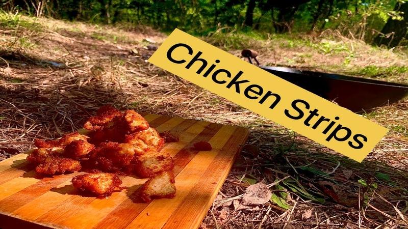 Рецепт куриных стрипсов KFC Chicken Strips Recipe KFC