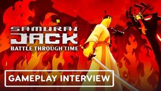 Samurai Jack: Battle Through Time - Exclusive Gameplay Interview | Summer of Gaming 2020