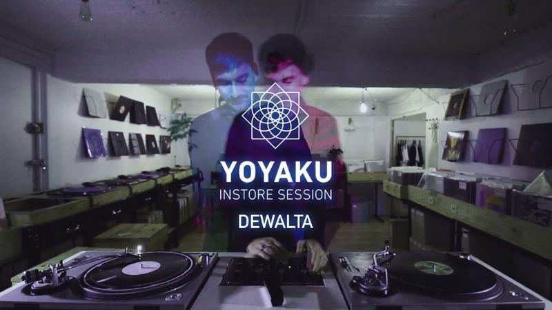 Yoyaku instore session DeWalta