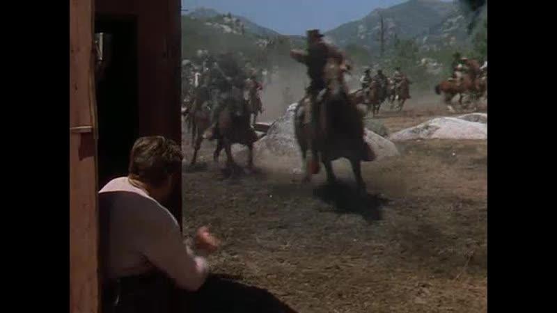 Налёт партизан-конфедератов на ферму (Канзасские рейдеры (1950)