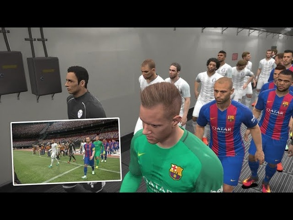 El Clasico Paling SERU - Pro Evolution Soccer 2017