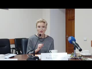 Пресс-завтрак с Министром образования И.В. Седовой