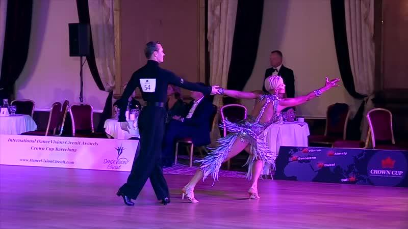 5 танцев Crown Cup Vilnius World Cup Int Latin 2019