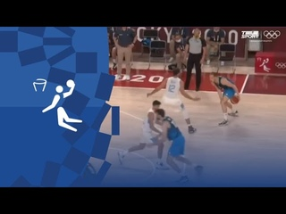 Олимпиада-2020. Баскетбол (муж). Групповой турнир. Аргентина — Словения. Видеообзор