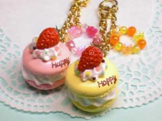 Pretty cakes of polymer clay Vo.1(Jelly Jewelry スイーツデコ動画vo.1)