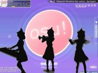 Bad apple ft. osu! (Masayoshi Minoshima & nomico)