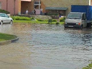 После дождя на ул.Брикеля